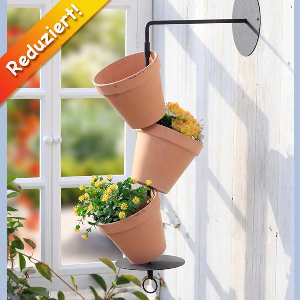 Pflanzt pfe flower tower f r wandmontage for Gartendeko reduziert