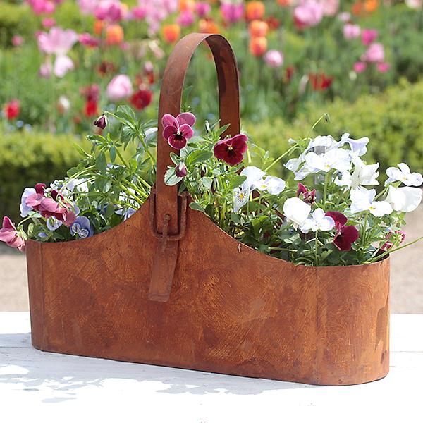 pflanzgef handtasche mit schnalle. Black Bedroom Furniture Sets. Home Design Ideas