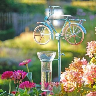 """A2196 Regenmesser """"Gartenbike"""""""