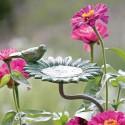 """Gartenstab Vogeltränke """"Zinnie"""""""