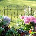 Zaun mit Herz 75 cm