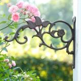 A2199 Wandhaken Blumenranke