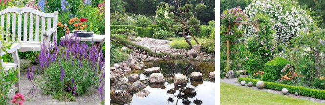 Garten Ansichten