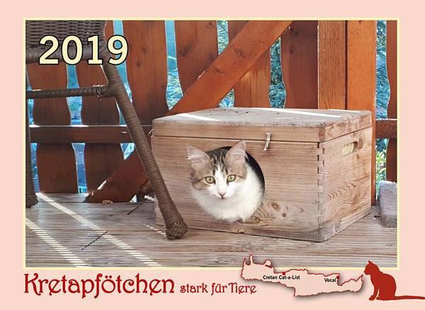 Kreta Katzenkalender 2019