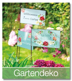 Gartendeko-Sortiment bei Keimzeit